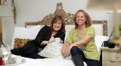 Chateau La femme creators, Shari Geffen and Linda Posnick takes boudoir, bride, and romantic portraiture to another level