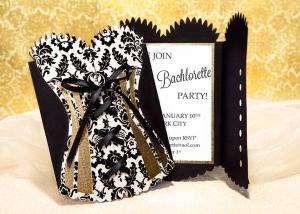 corset invitation
