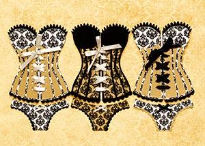 corset invitations