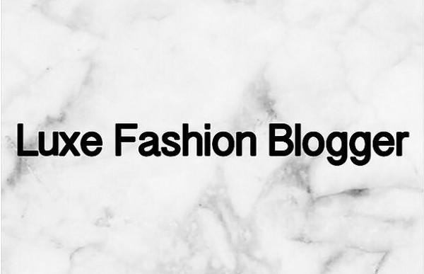 LuxFashionBloggerLogo