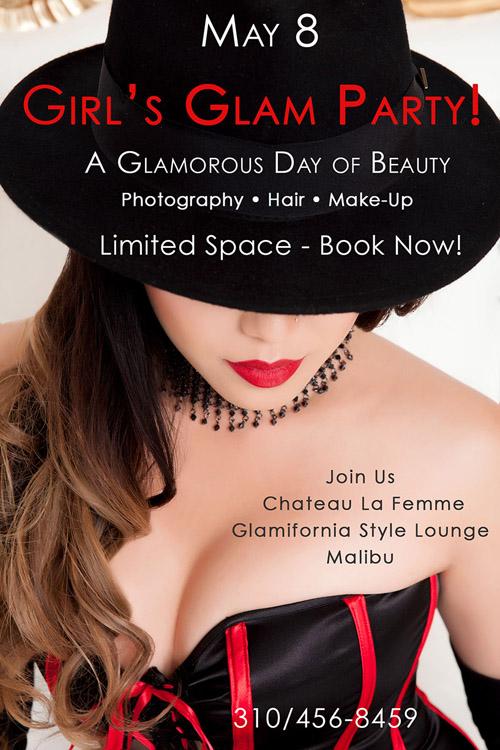 Chateau La Femme Glam Party Event