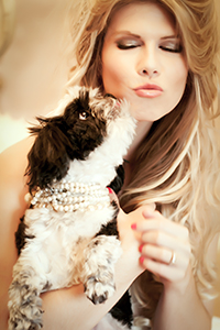Girls and Dogs Pet photography